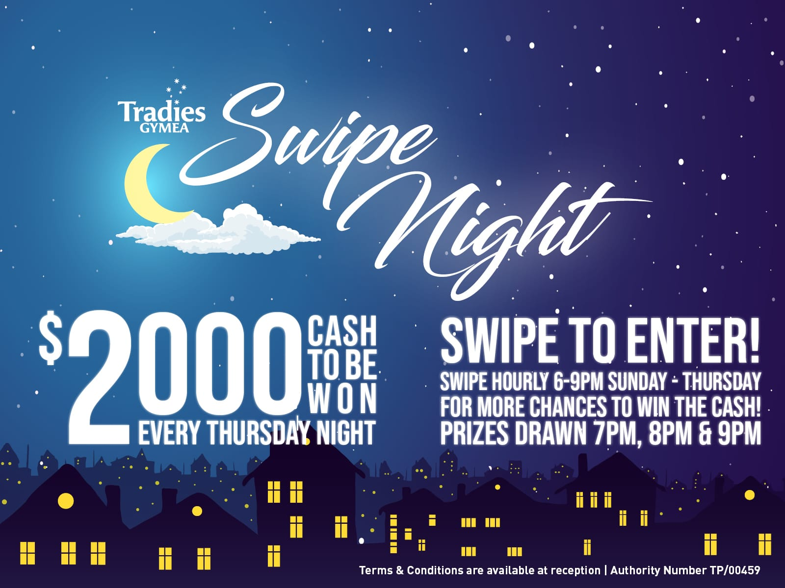 Swipe Night Members promotion