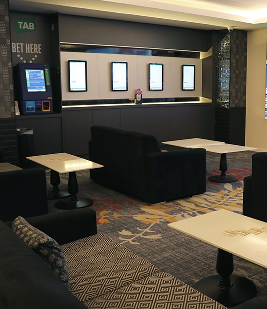 The Members Lounge and TAB at Tradies Gymea is the home of live sport in the Sutherland Shire